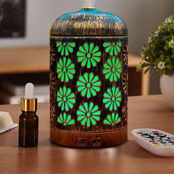 diffuseur-huiles-essentielles-fleur-vert