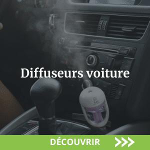 Diffuseurs d'huiles essentielles voiture