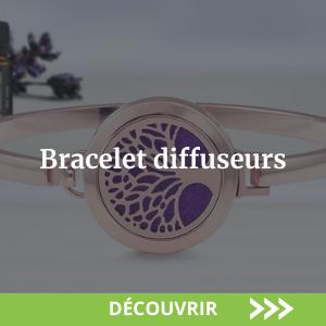 Bracelet diffuseur d'huiles essentielles