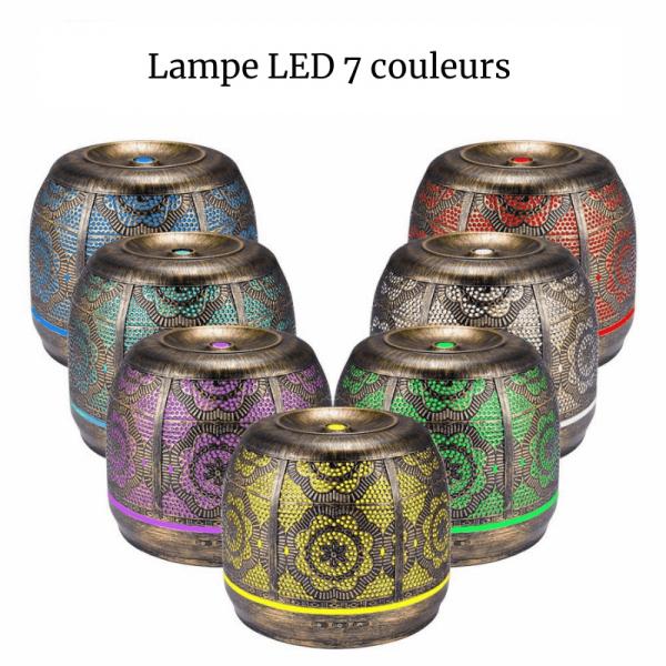 brumisateur lampe